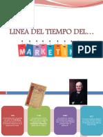 Linea Del Tiempo Del Marketing