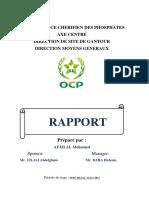 Rapport M.afailal