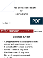 lecture 11 Off balance sheet transactions