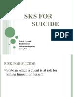 NURS 200- Risk for Suicide