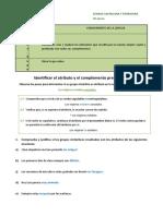 3º. A. Ficha 3.8. Identificar el atributo y el CPvo
