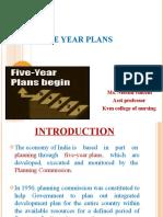 5 year plan.ppt