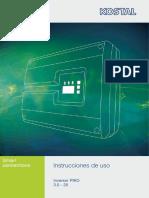 Manual PIKO Trifasico 4 20 KW
