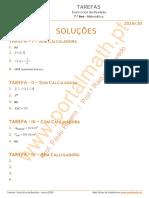 7Ano_Tarefa_I_II_III_Sol