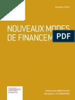283836616 Mohamed Abdesslam Et Benjamin Le Pendeven PME Nouveaux Modes de Financement