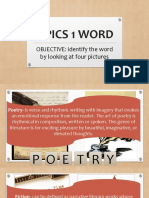 21st Century Literary Genres