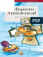 Refranero anticlerical - Jose Esteban