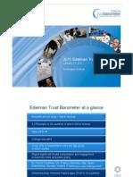 Trust Barometer Norway - 2011