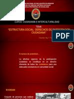 Semana 05 Estructura social derechos de participación ciudadana
