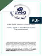 Impacto del sistema financiero mexicano en la economía nacional UVEG
