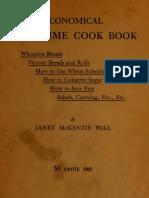 1918 Economical War Time Cook Book