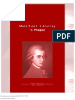 Mozart on His Journey to Prague