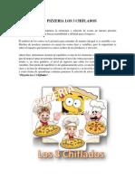 Analisis de Costo Caso 2 Pizzeria