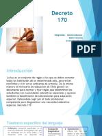 Decreto 170 revisión de adelanto