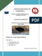 filiacion sedimentaria
