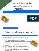 Historico dos Processadores