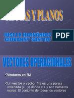 PRESENTACION DE RECTAS Y PLANOS