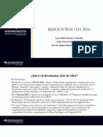 RESOLUCION 1231  2016 (1)