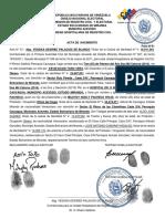 ACTA DE NACIMIENTO.