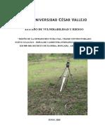 ESTUDIO DE VULNERABILIDAD Y RIESGO