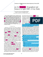 1869-Coping Strategies for Temporal Geographical and Sociocultural Distances in Agile GSD A Case Study