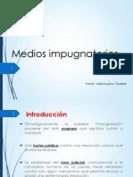 Valenzuela Ylizarbe, Medios impugnatorios (Completo)