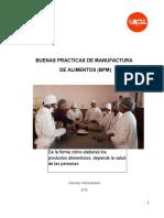 Cartilla BUENAS PRACTICAS DE MANUFACTURA