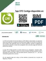 Presentación Difusión App CFE Contigo SSB