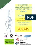 ANAIS IX EEMU - 2016