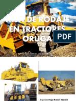 TREN DE RODAJE TRACTOR ORUGA