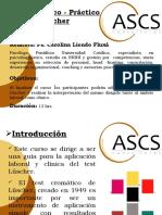 Presentaci+¦n  Curso L++scher