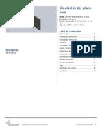 placa base-Análisis estático placa base-1