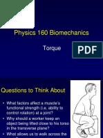 Notes on Biomechanics