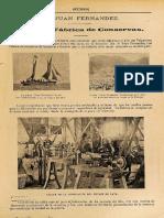 """""""La gran fábrica de Conservas"""".  Reportaje gráfico Revista """"Sucesos"""" (1904)."""