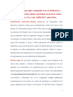 CASACIÓN N° 15508-2017, LIMA ESTE
