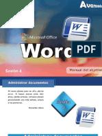 MsWORD Avanzado Sesion04