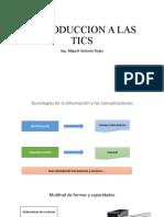 INTRODUCCION A LAS TICS