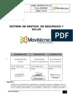 SIG-PR-22 USO DE ANDAMIOS