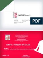 TEMA 2  CARACTERISTICAS DE LOS DERECHOS HUMANOS PDF