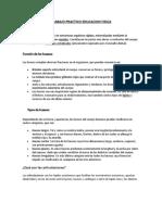 TRABAJO PRACTICO EDUCACION FISICA 4°1