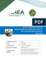 NI 6.21 Construccion De Microturbinas Hidroelectricas En Comunidades Rurales Aisladas