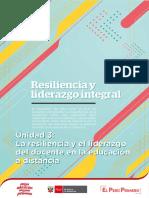 La Resiliencia y El Liderazgo Docente en La Educacion a Distancia Ccesa007