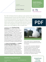 casestudy Energy Recovery from Farm Waste