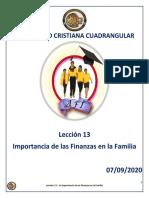 13 Clase de Discipulado - Importancia de Las Finanzas en La Familia.pdf