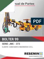MANUAL DE PARTES BOLTER 99 JMC-373