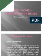 REDES LOCAIS – TOPOLOGIAS DE REDES1_1
