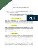 CASO DE SANDRA RONDÓN PINTO