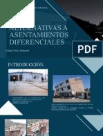 Alternativas frente a asentamientos diferenciales