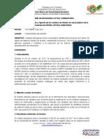 INFORME DE BÚSQUEDA ACTIVA COMUNITARIA ARARA
