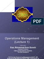 Operations Management-Session One